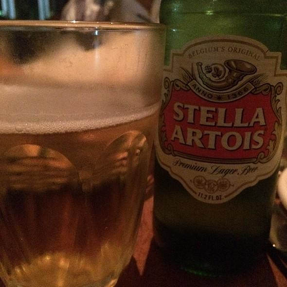 Stella Artois Beer - Sardinia Enoteca Ristorante, Miami Beach, FL