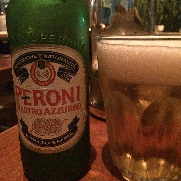 Peroni Beer - Sardinia Enoteca Ristorante, Miami Beach, FL