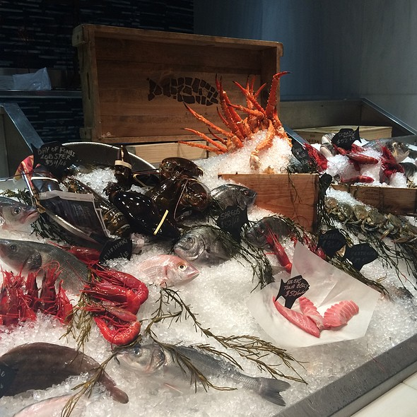 Assorted Fresh Fishes & Seafood - Milos By Costas Spiliadis-Miami, Miami Beach, FL