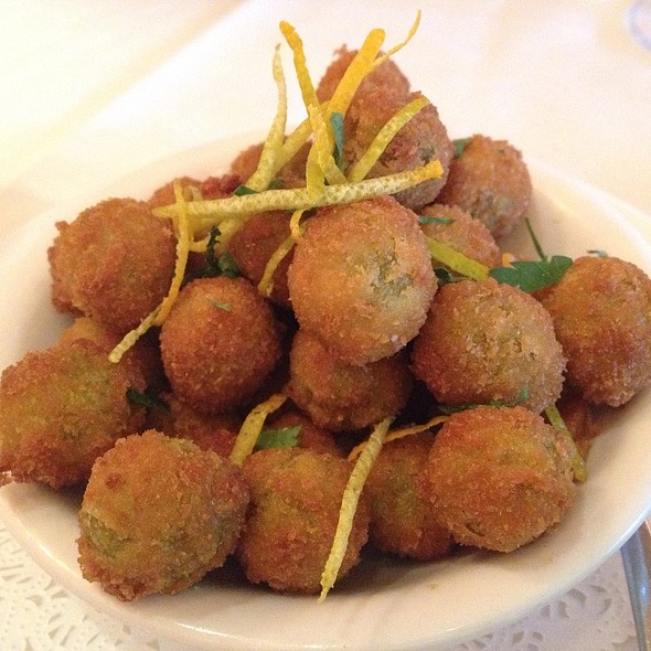 Fried Olives - Magic Flute, San Francisco, CA