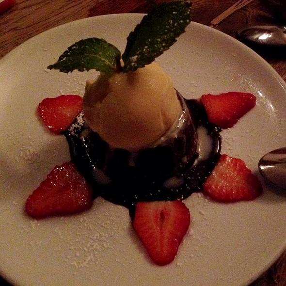 Chocolate Souffle - Gallo Nero, New York, NY
