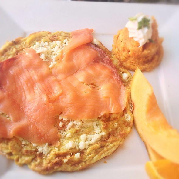 Smoked Salmon Frittata - Cafe Verona, Los Angeles, CA