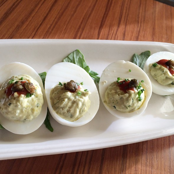 Deviled Eggs - Cin-Cin Wine Bar, Los Gatos, CA