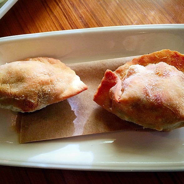 Wild Mushroom Empanadas - Cin-Cin Wine Bar, Los Gatos, CA