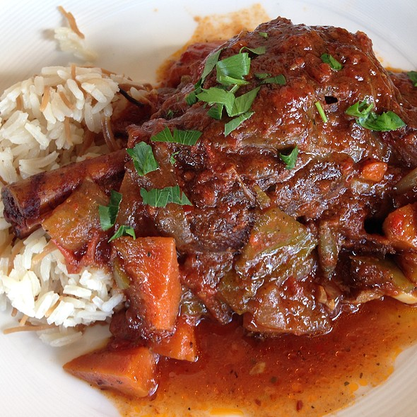 Lamb Shank - Bosphorous Turkish Cuisine - Winter Park, Winter Park, FL