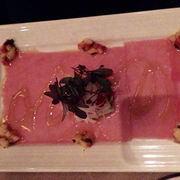 Tuna Carpaccio - Camille's Restaurant, Providence, RI