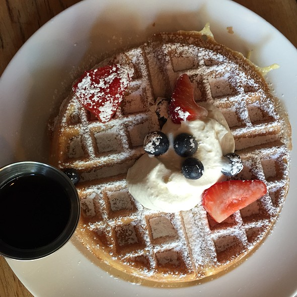 Blueberry Waffle - Woodland, Brooklyn, NY