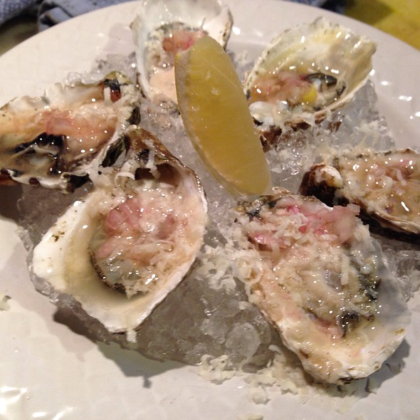 Oysters on the Half Shell - Luna Restaurant, Spokane, WA