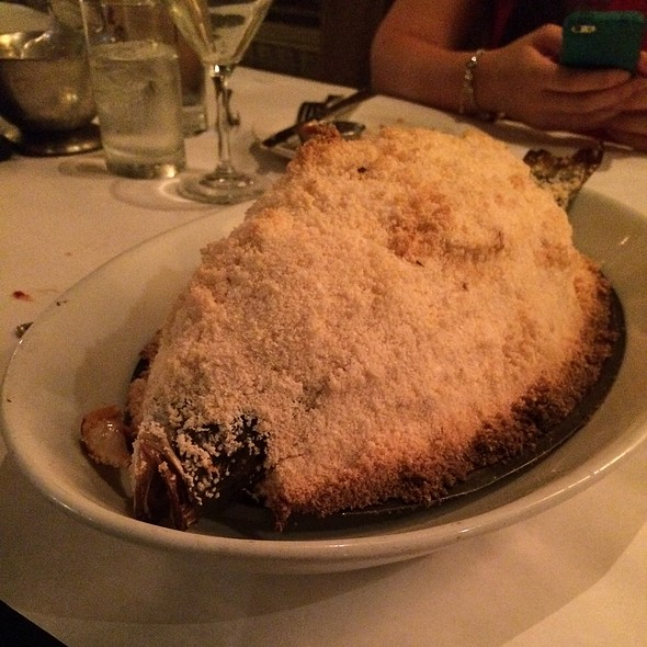 Salt Crusted Branzino - The River Oyster Bar, Miami, FL