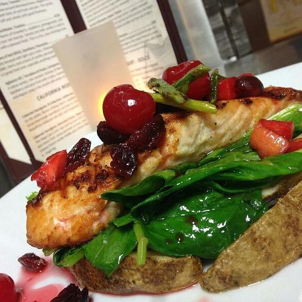 Salmon Ala Casa  - La Casa Italian Grill, Alpharetta, GA