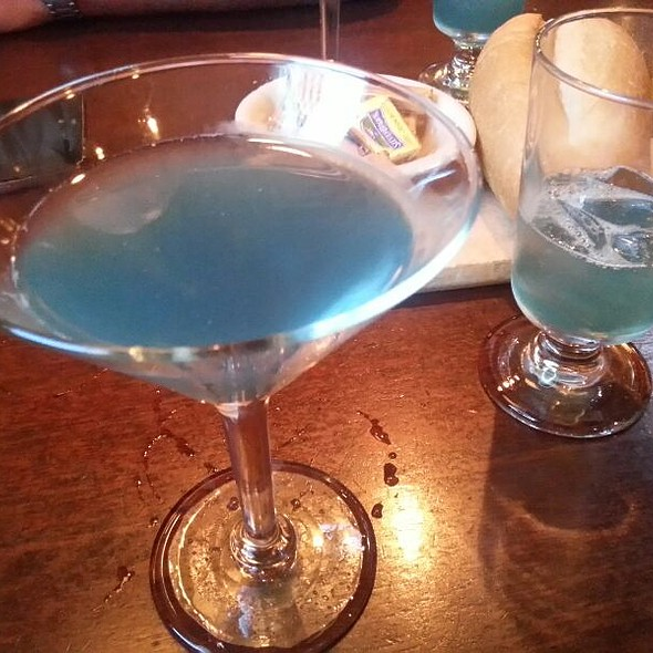 Italian Ice Martini - Frank's Steak House, Cambridge, MA