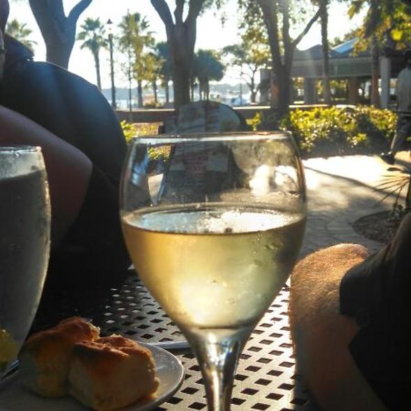 Pinot Grigio - Plums Restaurant, Beaufort, SC