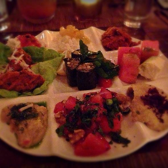 Chef's Meze Sampler - Pera Mediterranean Brasserie, New York, NY