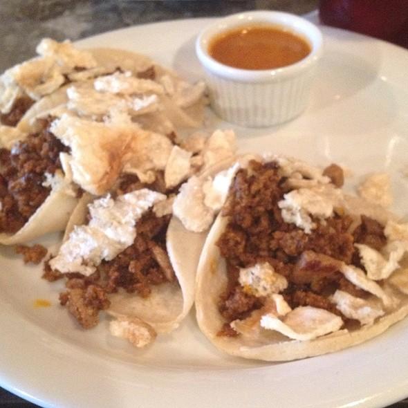 Tacos De Campechanos - Hecho en Dumbo Chef's Table Menu Prix Fixe, New York, NY