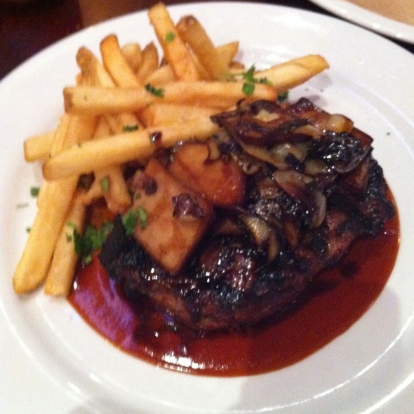 New York Steak - Ghiringhelli's Pizzeria Grill & Bar, Novato, CA