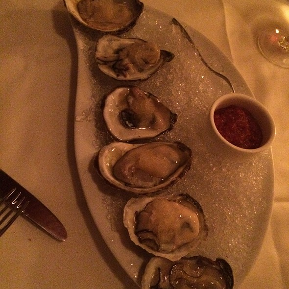 Peconic Bay Oysters On The Half Shell - The Jamesport Manor Inn, Riverhead, NY
