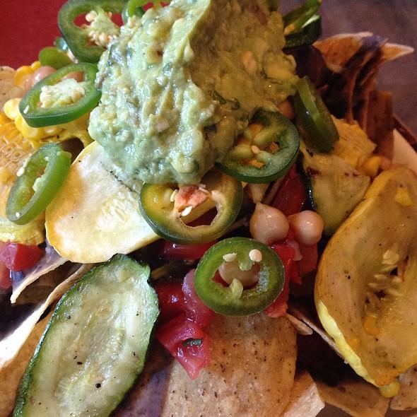 Veggie Nachos - Terrapin Restaurant, Rhinebeck, NY