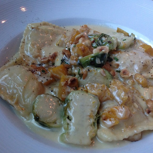 Butternut Ravioli - Purple Cafe and Wine Bar - Bellevue, Bellevue, WA