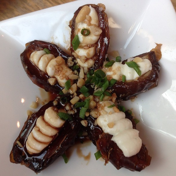 Gorgonzola-Stuffed Dates - Purple Cafe and Wine Bar - Bellevue, Bellevue, WA