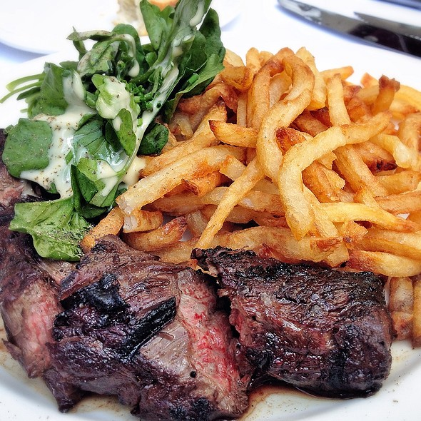 Steak Frites - Brasserie Ruhlmann, New York, NY