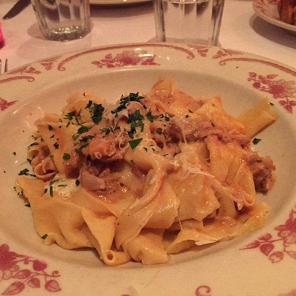 Pappardelle With Pork Sugo - Rose's Cafe, San Francisco, CA