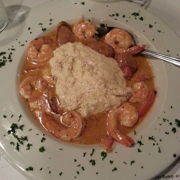 Low Country Shrimp And Grits - Boar's Head Grill and Tavern, Savannah, GA