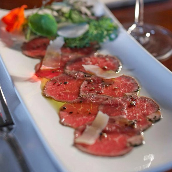 Beef Carpaccio - The View Restaurant at the Mirror Lake Inn, Lake Placid, NY