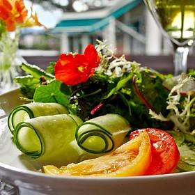House Salad - The View Restaurant at the Mirror Lake Inn, Lake Placid, NY