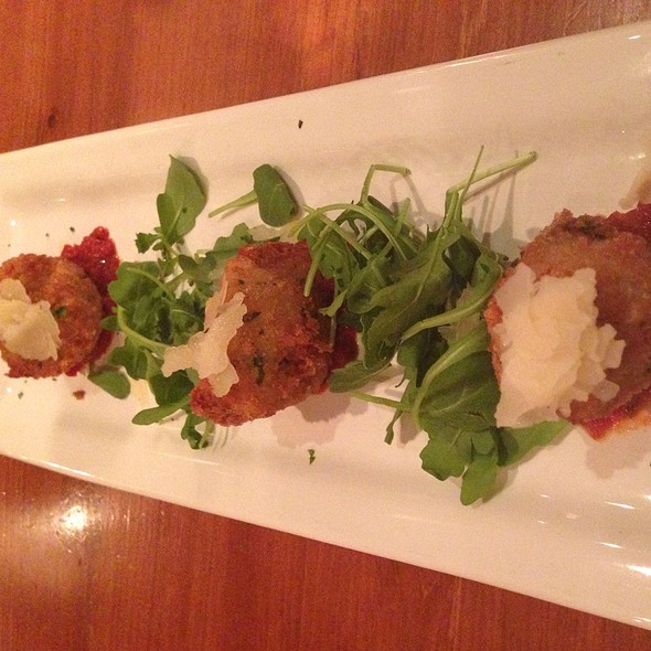Wild Mushroom Truffle Arancini - RedRossa Italian Grille, Bloomington, MN