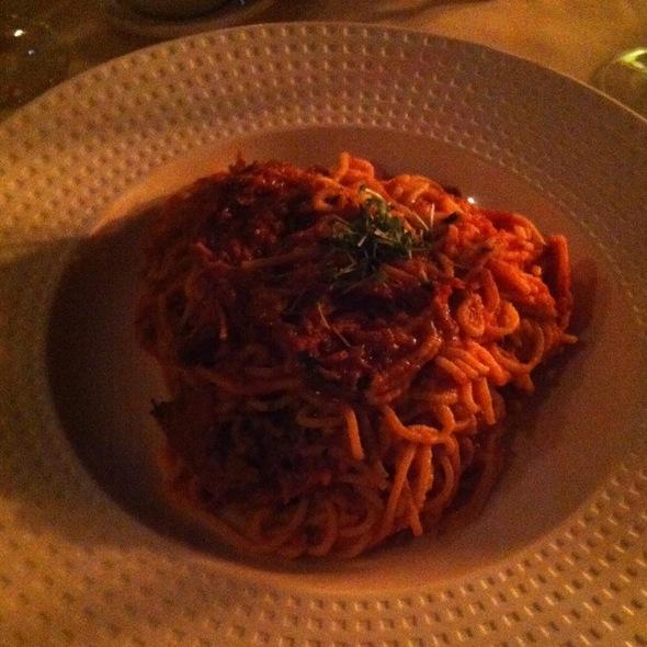Spaghetti Bolognese - Dondero's - Grand Hyatt Kauai, Poipu, HI