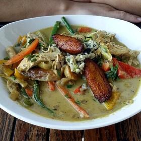 Island Chicken Curry - The Grand Marlin of Pensacola Beach, Pensacola, FL