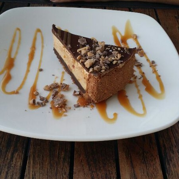 Black Bottom Peanut Butter Pie - The Grand Marlin of Pensacola Beach, Pensacola, FL