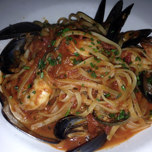 Seafood Pasta - Chez Lucienne, New York, NY
