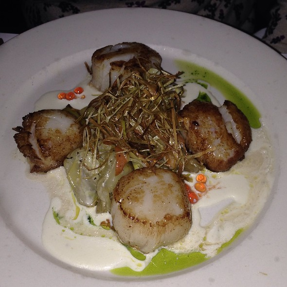 Scallops - Les Halles Park Avenue, New York, NY