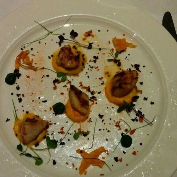 Seared Scallops - Christopher's, London