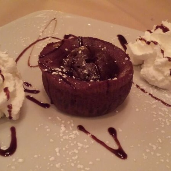 Chocolate Souffle - King Umberto Restaurant, Elmont, NY