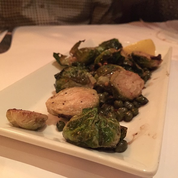 Crispy Brussels Sprouts - Fontana's Italian, Cupertino, CA