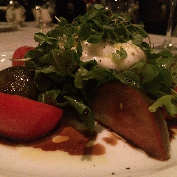 Heirloom Tomatoes And Burrata Cheese - Prime - Bellagio, Las Vegas, NV
