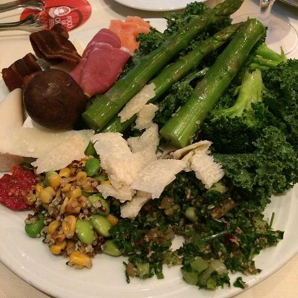 Open Buffet Plate - Fogo de Chao Brazilian Steakhouse - Austin, Austin, TX