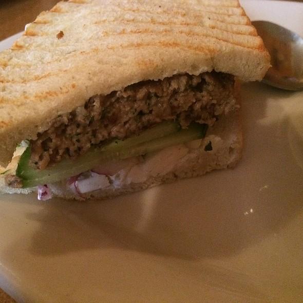 Lamb Burger - Kafe 421, Minneapolis, MN