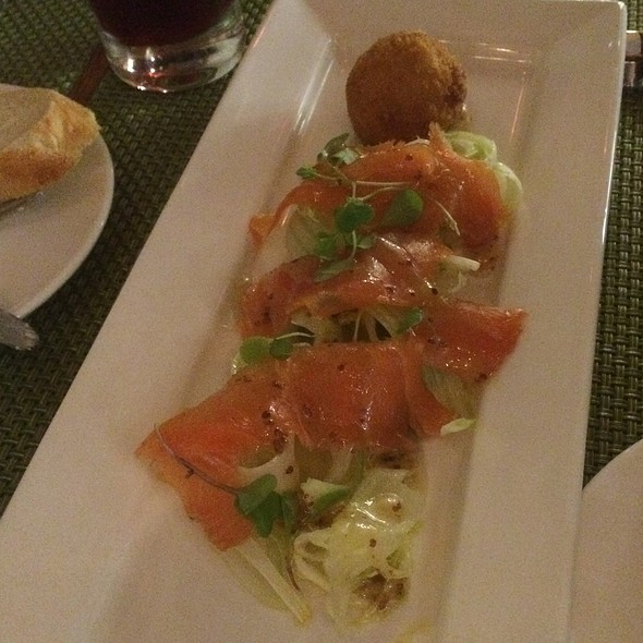 House-Cured Salmon And Scotch Egg - The Chefs' House - George Brown College, Toronto, ON