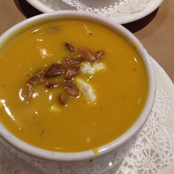 Butternut Squash Soup - The Fireplace, Brookline, MA