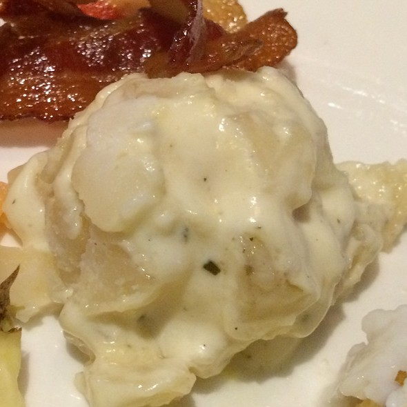 Potatoes Au Gratin - Dusty's Wine Bar, Okemos, MI