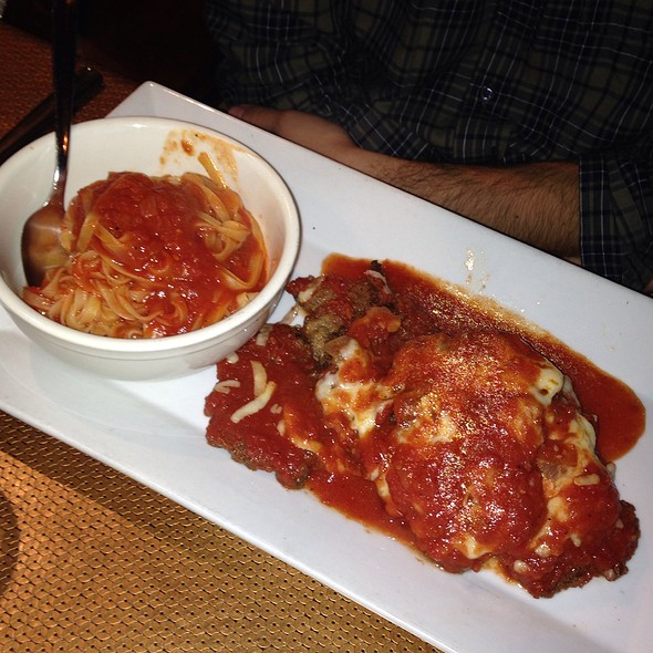 Veal Parmesan - That's Amore, Collingswood, NJ