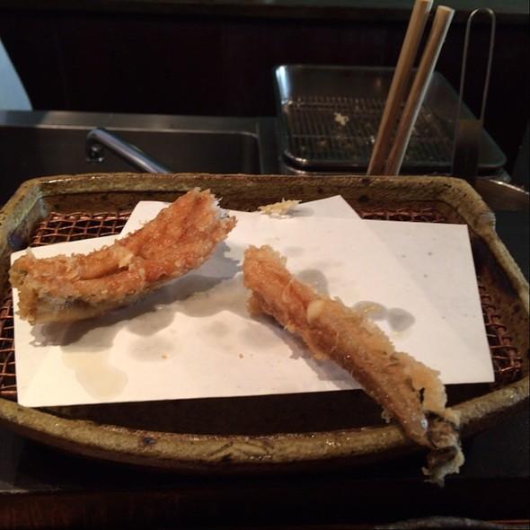 Anago Tempura - みかわ 是山居, 江東区, 東京都