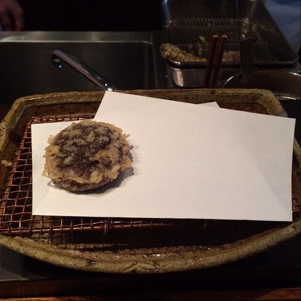 Shiitake Mushroom Tempura - Mikawa Zezankyo, Koto-ku, Tokyo