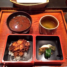 Tendon (tempura rice bowl) - Mikawa Zezankyo, Koto-ku, Tokyo
