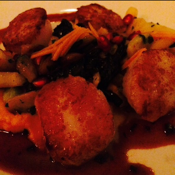 Pan Roasted Nantucket Scallops - Aria Tuscan Grill, Charlotte, NC