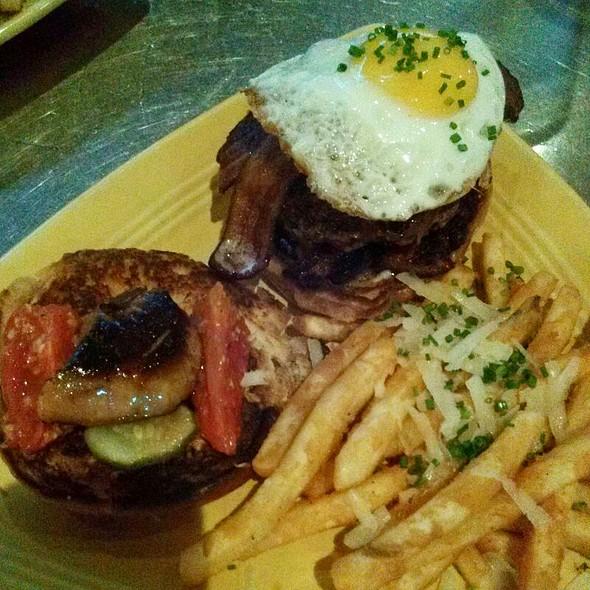 Foie Gras Steak Burger - Z Grille, St. Petersburg, FL
