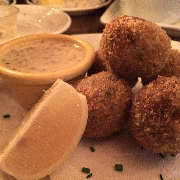 Boudin Balls with Creole Mustard - Bayou on Penn, Washington, DC